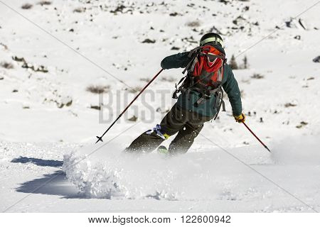 Free Rider Skiing
