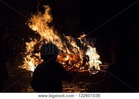 Zagovezni Fire Ritual