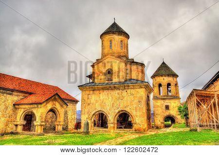 Gelati Monastery in Caucasus near Kutaisi - Georgia. ** Note: Soft Focus at 100%, best at smaller sizes