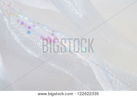 Blurred Abstract White Background