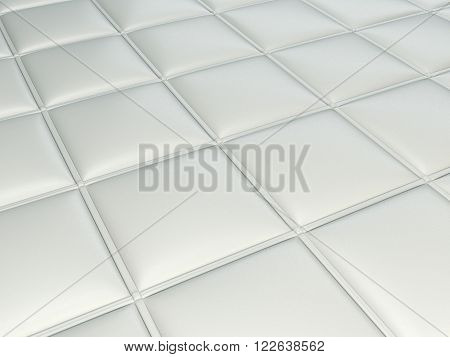 Bumped Leather Pattern With Rectangles