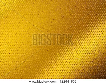 Scales Or Squama Golden Texture Or Background