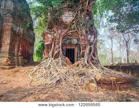 Prasat Bram, Siem Reap, Cambodia