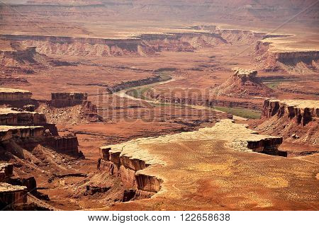 view of Canyonland National Park Green River ** Note: Soft Focus at 100%, best at smaller sizes