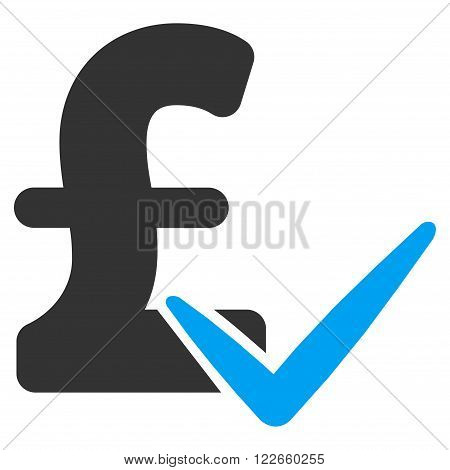 Accept Pound vector icon. Accept Pound icon symbol. Accept Pound icon image. Accept Pound icon picture. Accept Pound pictogram. Flat accept pound icon. Isolated accept pound icon graphic.