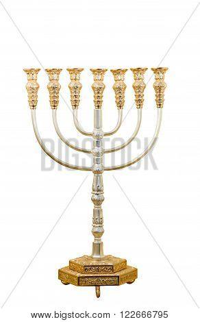 Menorah, jewish candle holder