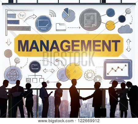 Management Organization Strategy Process Controlling Concept