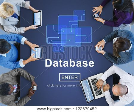 Database Network Technology Enter Concept