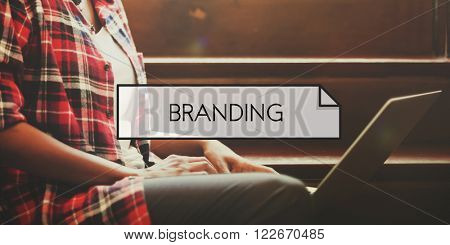 Branding Advertising Marketing Value Trademark Concept