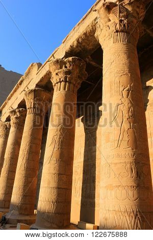 Pillars At Karnak Temple, Egypt