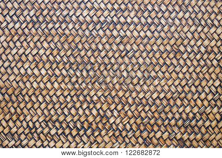 Basketry bamboo crafts is texture and background