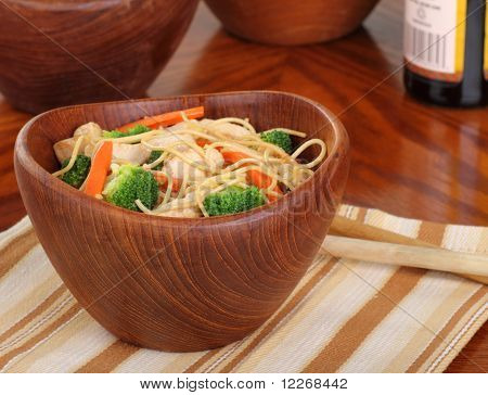 Chicken Lo Mein Meal