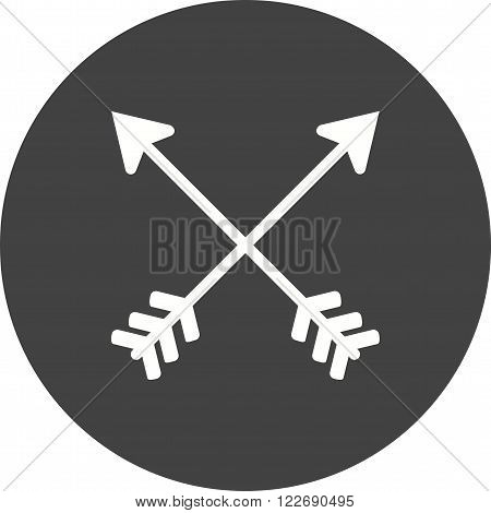 Darts, arrow, archery icon vector image. Can also be used for hipster. Suitable for web apps, mobile apps and print media.