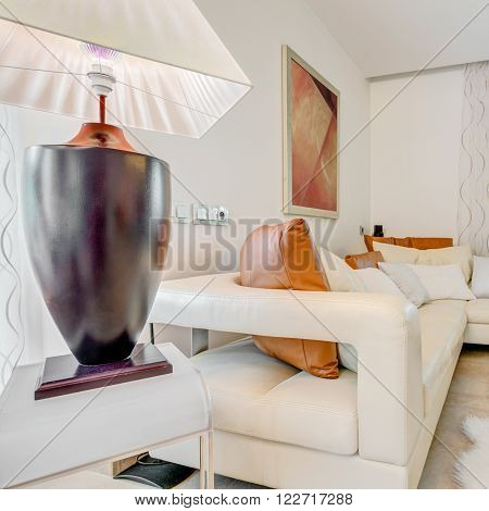 Photo of space meant for relax in a splashy residence