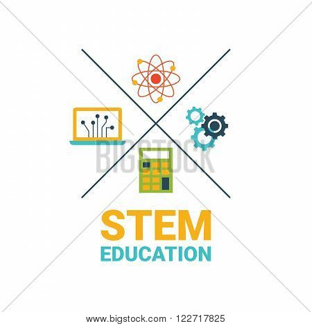 Stem Education Concept