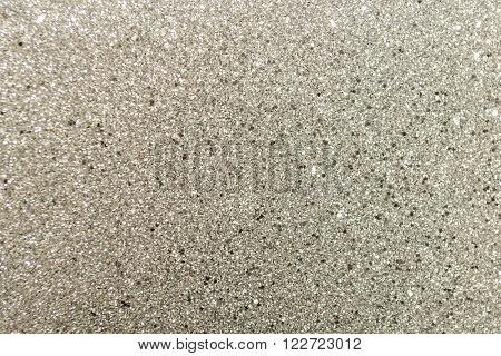 Silver Glittery Sparkle Wrapping Paper Sheet Surface