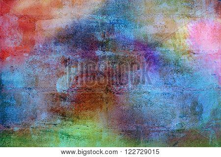 Concrete block wall paint surfaces style vintage textures background
