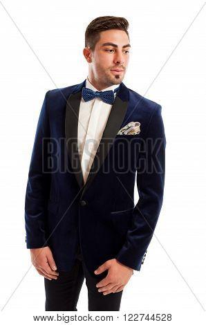 Handsome And Elegant Male Model