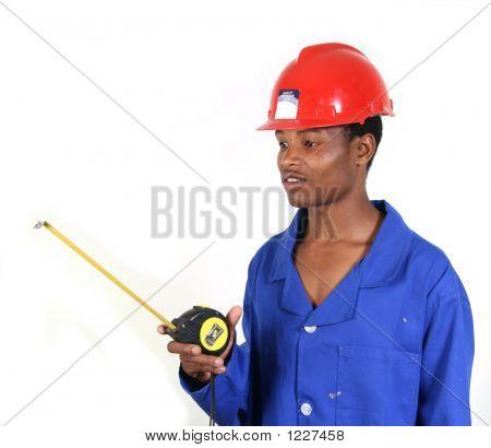 Man Measuring 001