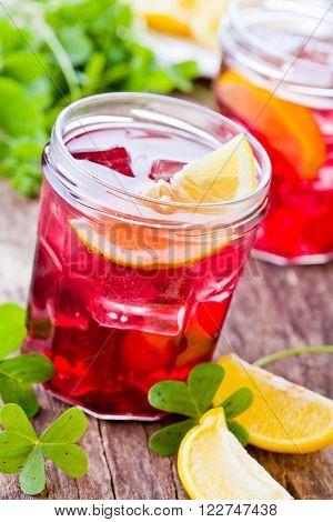Homemade Cranberry Juice