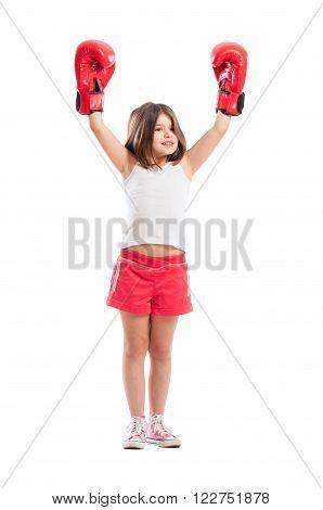 Champion Boxer Girl
