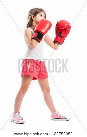 Young Boxer Girl