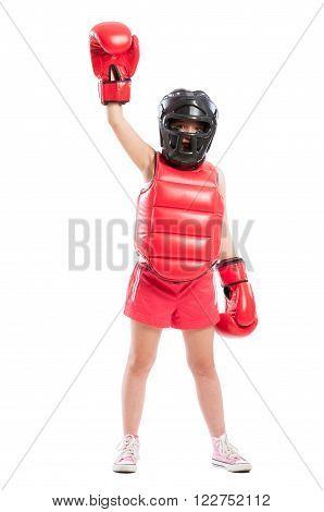 Cute Boxer Girl Champion