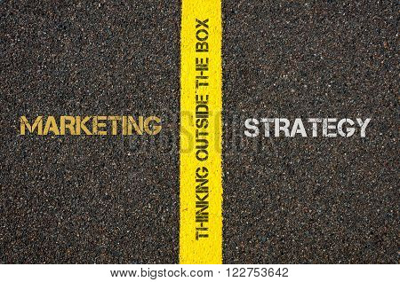 Antonym Concept Of Marketing Versus Strategy