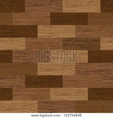 vector realistic texture of parquet seamless floor