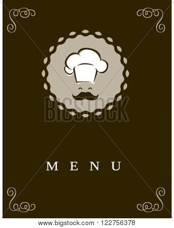 Chef icon in a modern style.