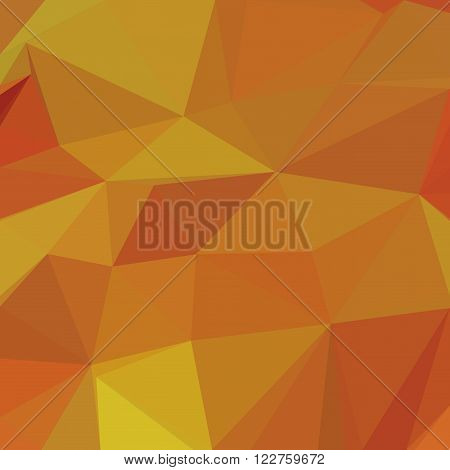 Abstract Background, Colorful Low Poly Design. Vector