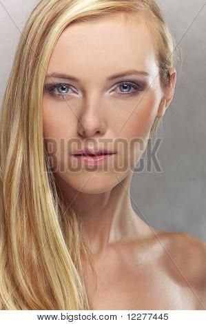 Luxury Attractive Blond Girl
