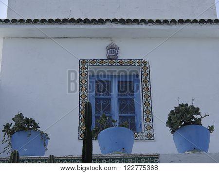 sidi bou said in the african tunesia