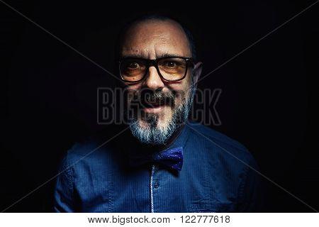 Portrait Of A Beard Man