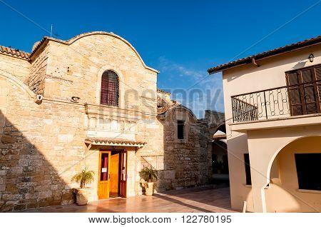 Church of Saint (Ayious) Lazarus. Larnaca Cyprus.