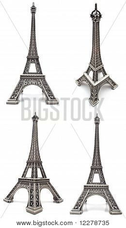 Eiffel tower figurine