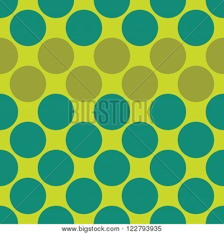 Vector modern seamless colorful geometry dots pattern color abstract geometric background pillow multicolored print retro texture hipster fashion design