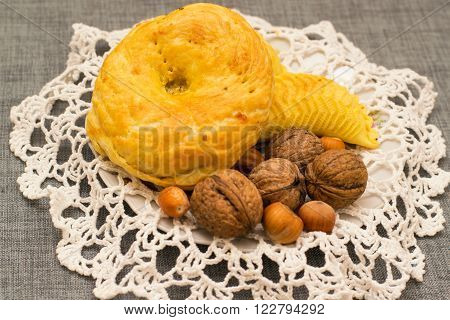 Pastries On The Plate