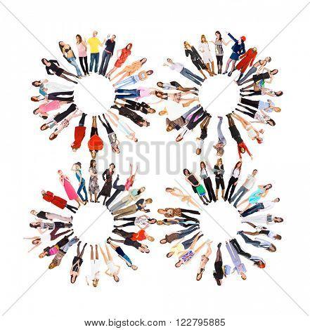 People Diversity Workforce Concept