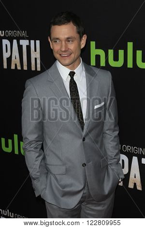 LOS ANGELES - MAR 21: Hugh Dancy at the Premiere of 'The Path' at Arclight Hollywood on March 21, 2016 in Los Angeles, California