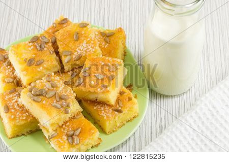 Corn Bread With Seeds