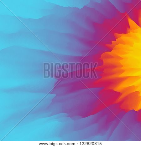 Burst, Fire and Explosion. Abstract background. Modern pattern. Vector Illustration For Your Design.