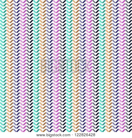 Seamless pattern colorful background, wallpaper with repetition geometric shape. Vector illustration of interlacing, fabric texture
