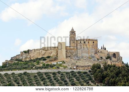 Castle of Alcala la Real in the Jaen province - Spain