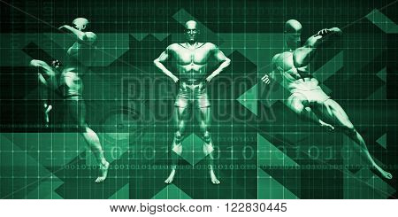Physical Sports Event and Seminar or Exhibition Background