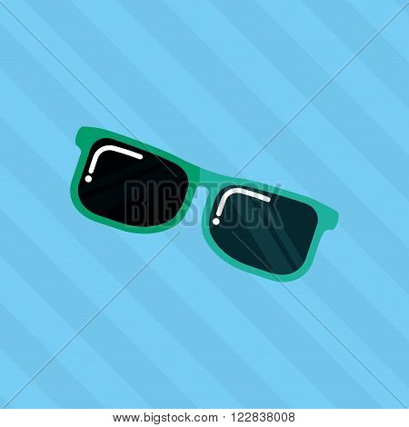 sunglass  icon  design, vector illustration eps10 graphic
