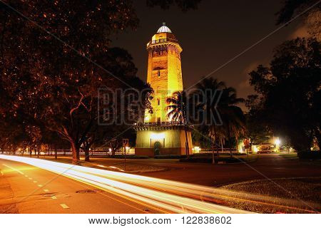 Historic Alhambra Water Tower in Coral Gables, Florida