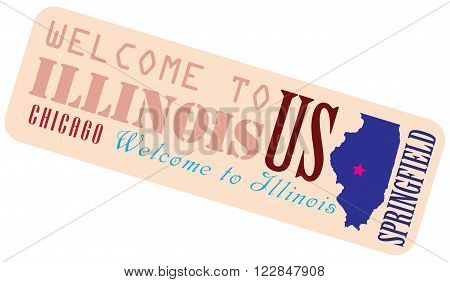 Welcome to Illinois - a shortcut to Illinois USA.