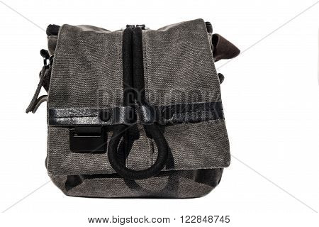 Camera bag , isolated on white background