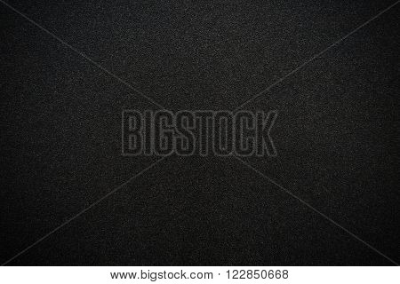 verry black rough sand paper texture background